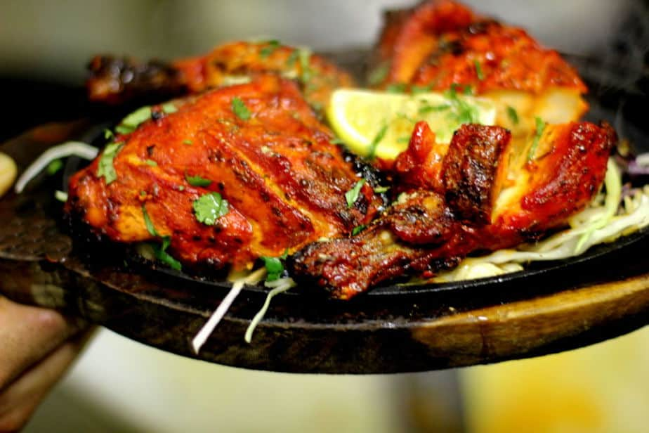 Chicken tandoori half - photo#21