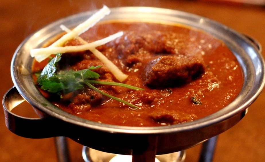 Vancouver Indian Cuisine: Lamb Rogan Josh