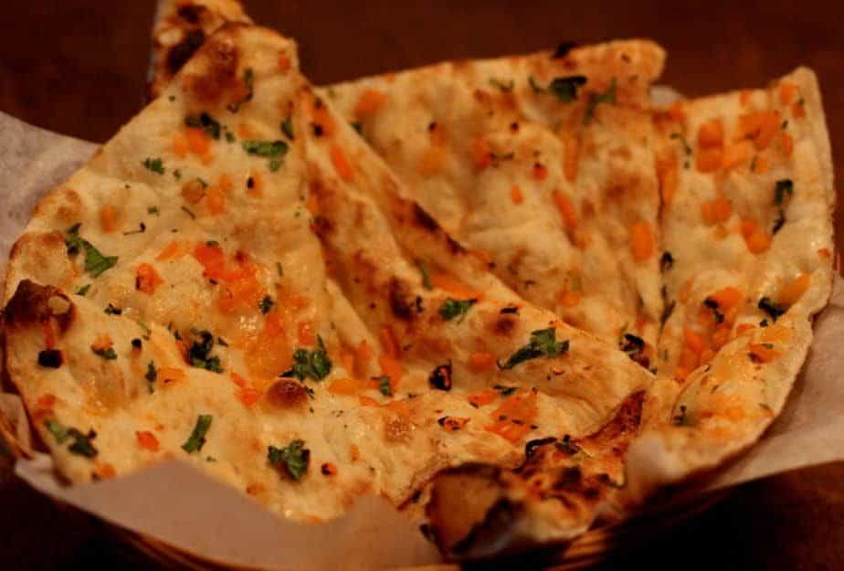 Indian Naan: Onion and Cilantro