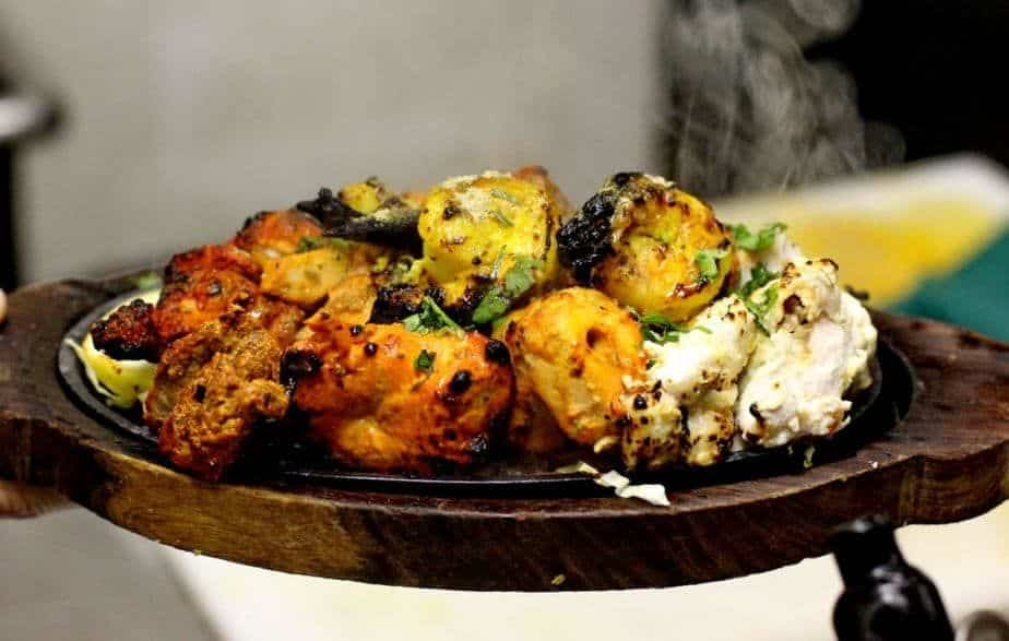 Indian Food and Indian Restaurants in Vancouver, Assorted tandoori barbequed meat