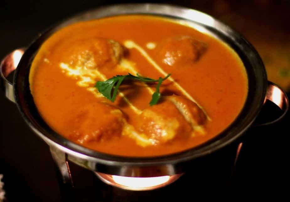 indian curry served at sula vancouver