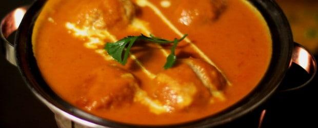 Kofta Dil Bahar: veggie dumplings bathed in iconic butter sauce