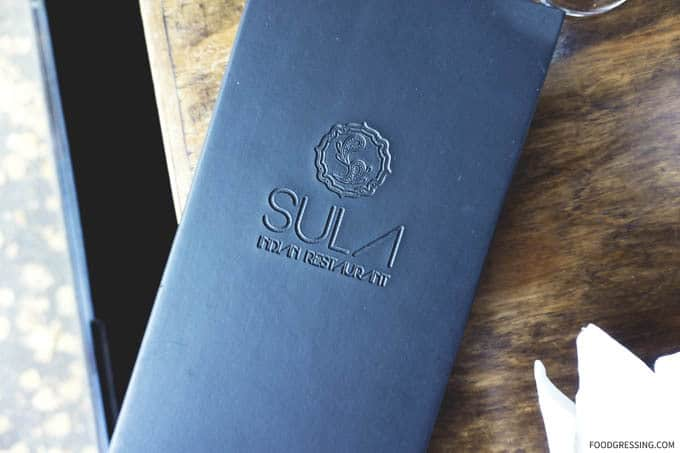 Traditional Indian Food at Sula Vancouver - Foodgressing