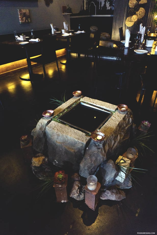 Traditional Indian Restaurant Sula Vancouver - Interior - Foodgressing