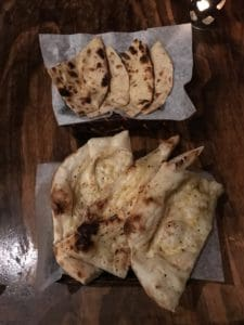 Maggi Food Blogger - Garlic Naan at Sula - Top Rated Indian Restaurant in Vancouver, BC