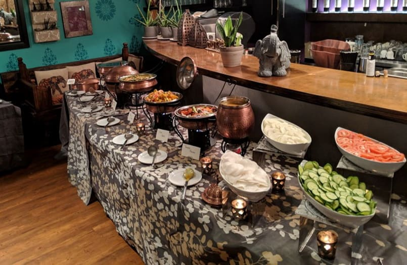Wondrous Lunch Groups Group Dining Vancouver Sula Indian Restaurant Interior Design Ideas Tzicisoteloinfo