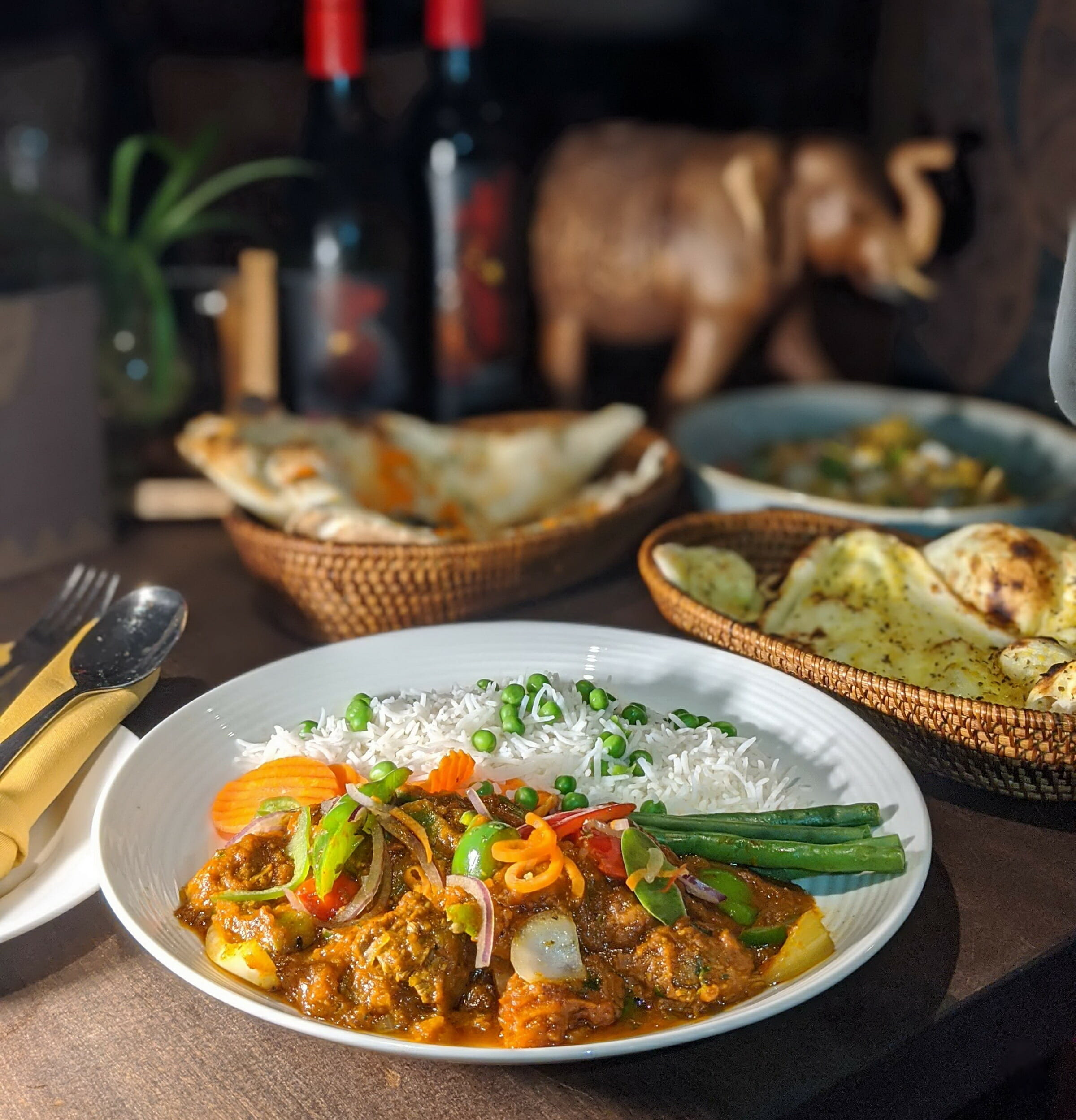 lamb kadai at vancouver restaurants