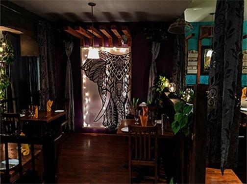 Sula Indian Restaurant Interior Decor