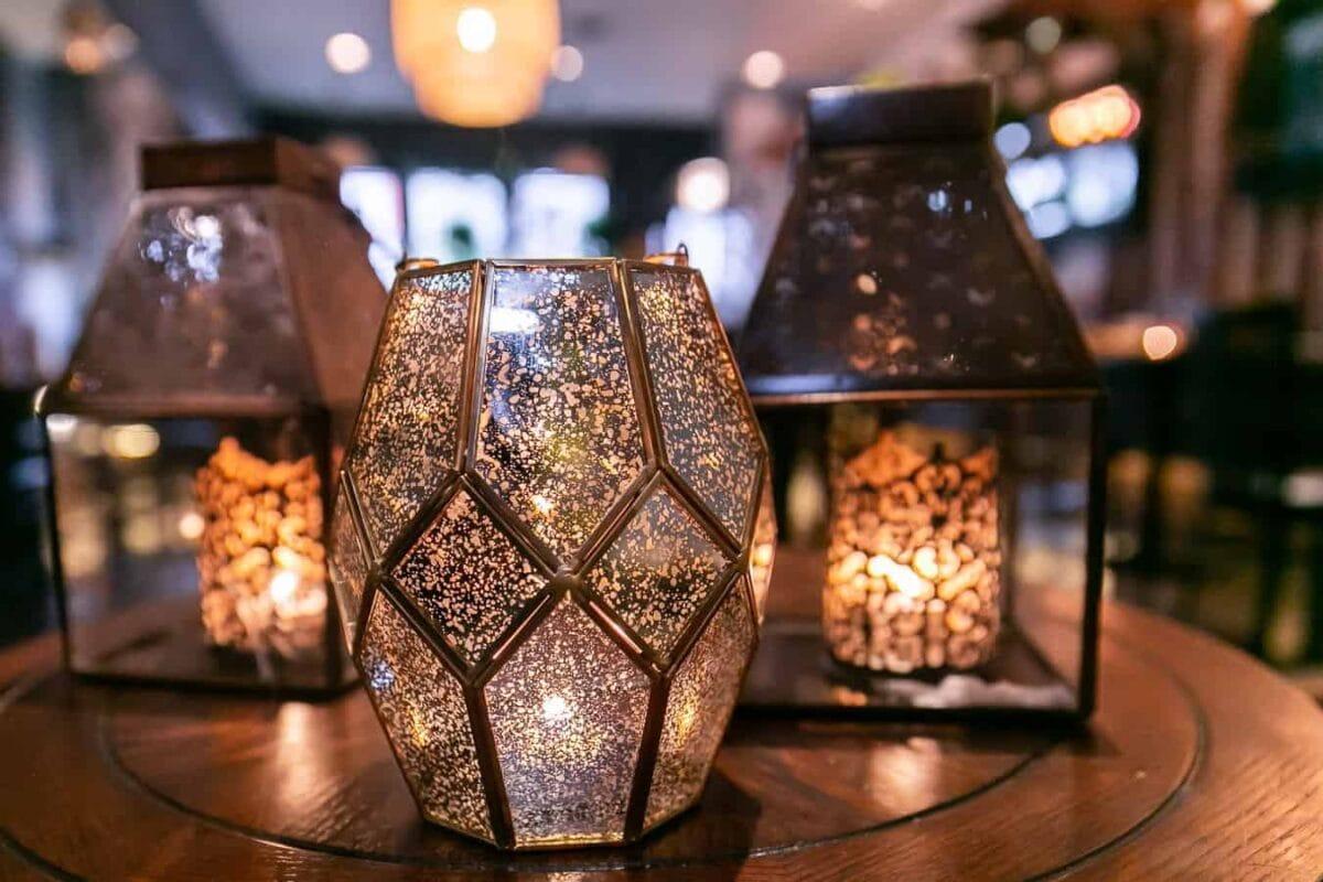 Sula Indian Restaurant Vancouver Interior Lighting