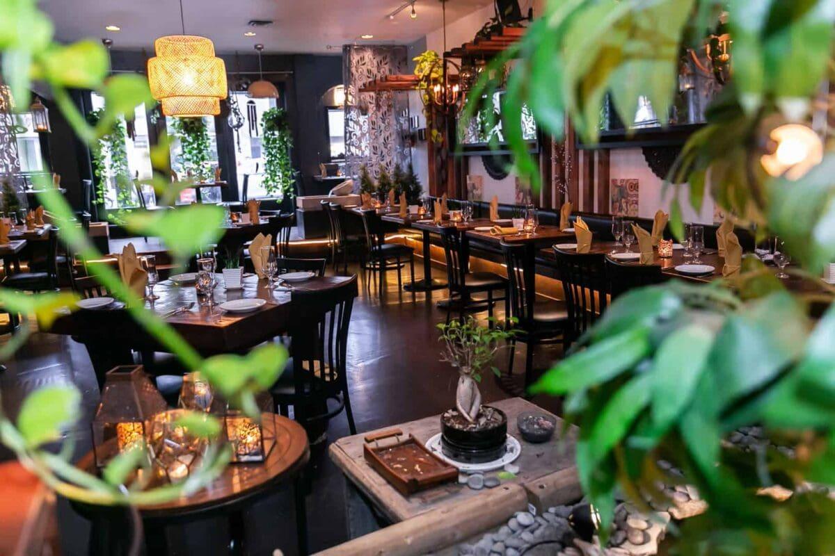Sula Indian Restaurant Interior