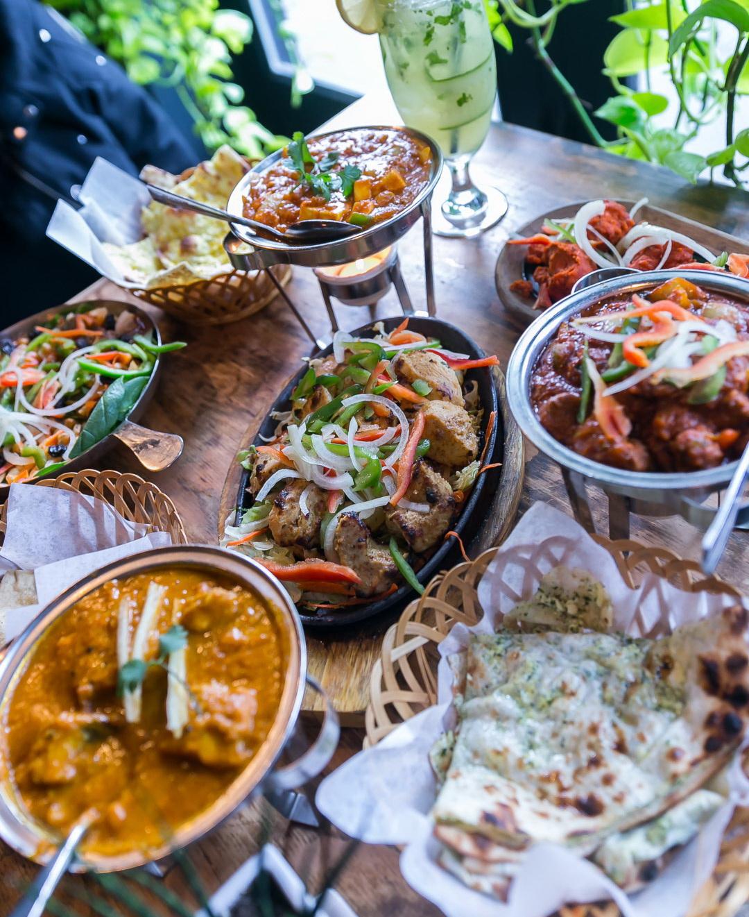 Popular Indian Cuisine At Sula