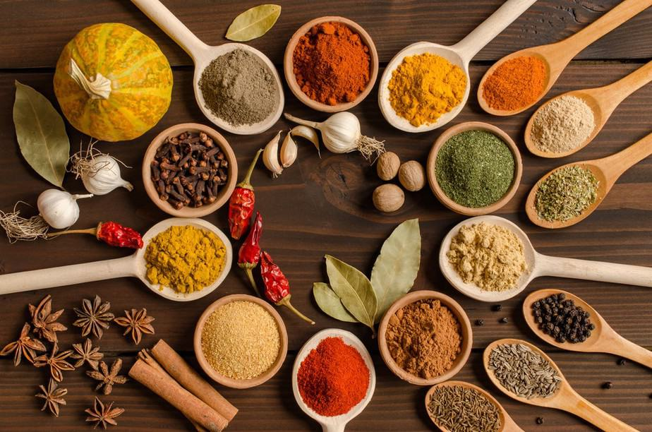 Indian Spices Used At Sula