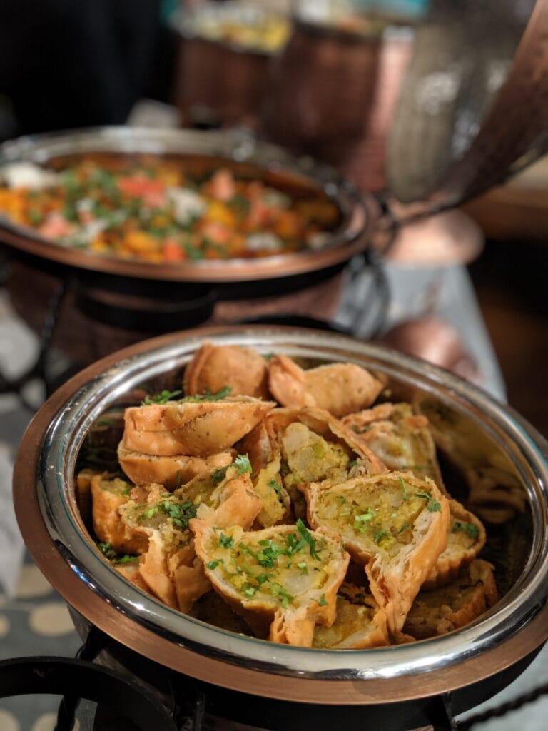 catering in BC Veg samosa