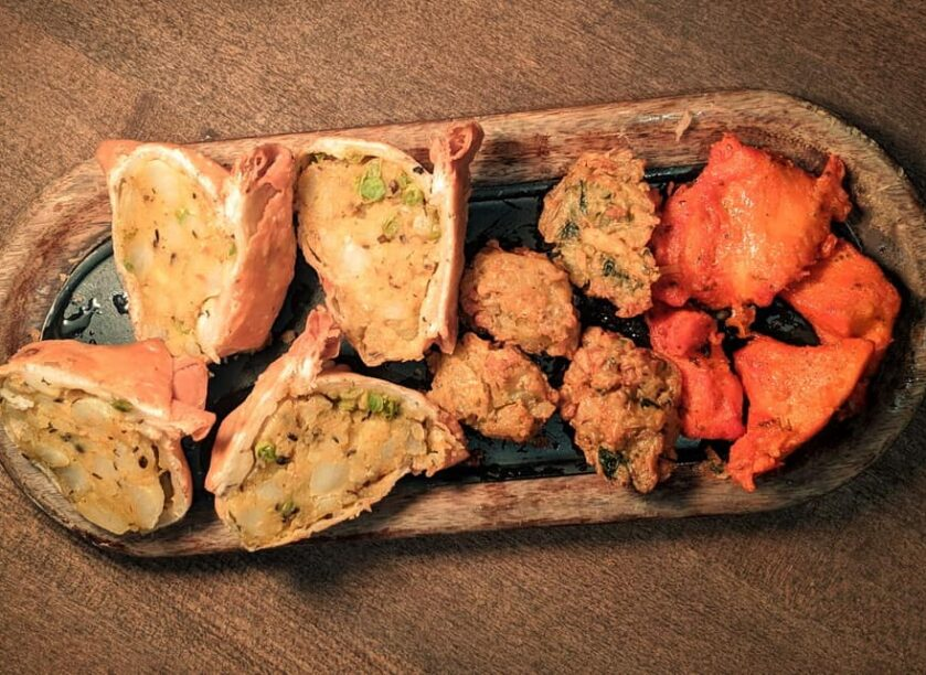 Sula's chaat platter