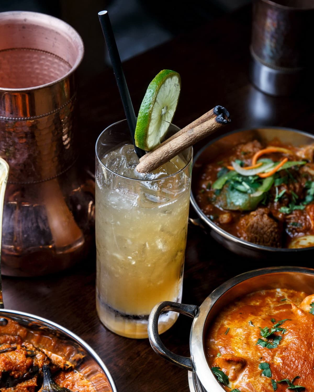 Indian cocktail bar
