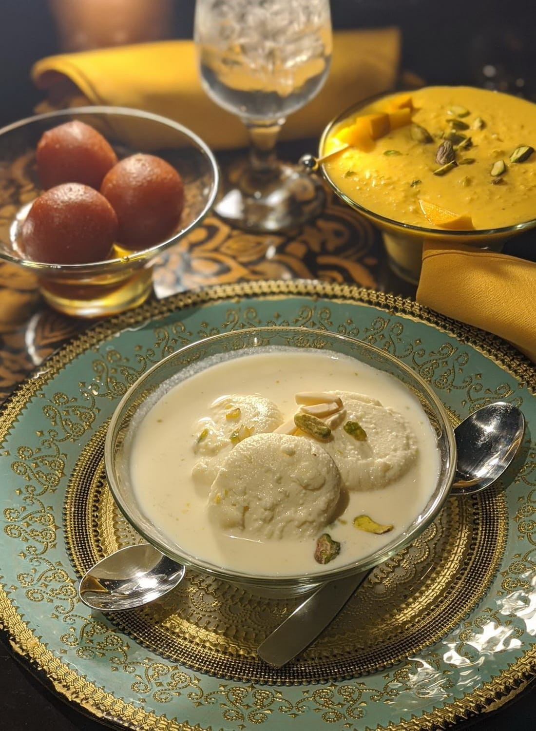 PISTACHIO RASMALAI At Sula Indian