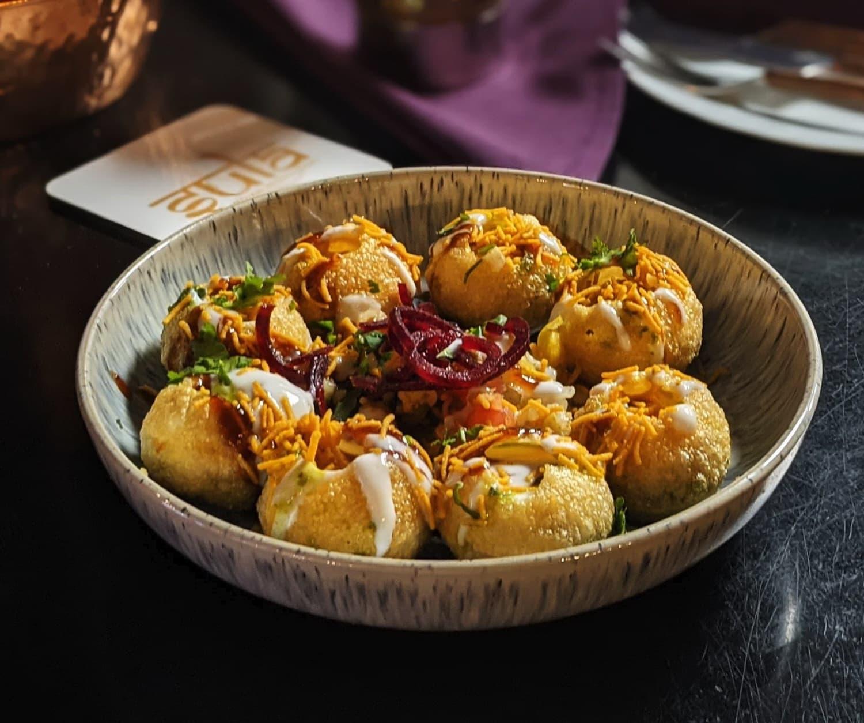 Dahi Puri - Indian Street food served at Sula