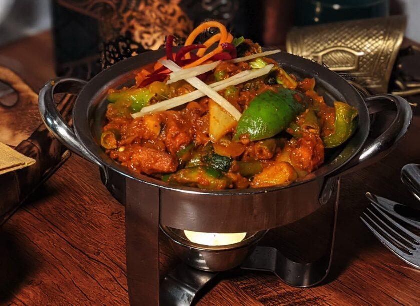 Indian Kadai Vegetable Curry
