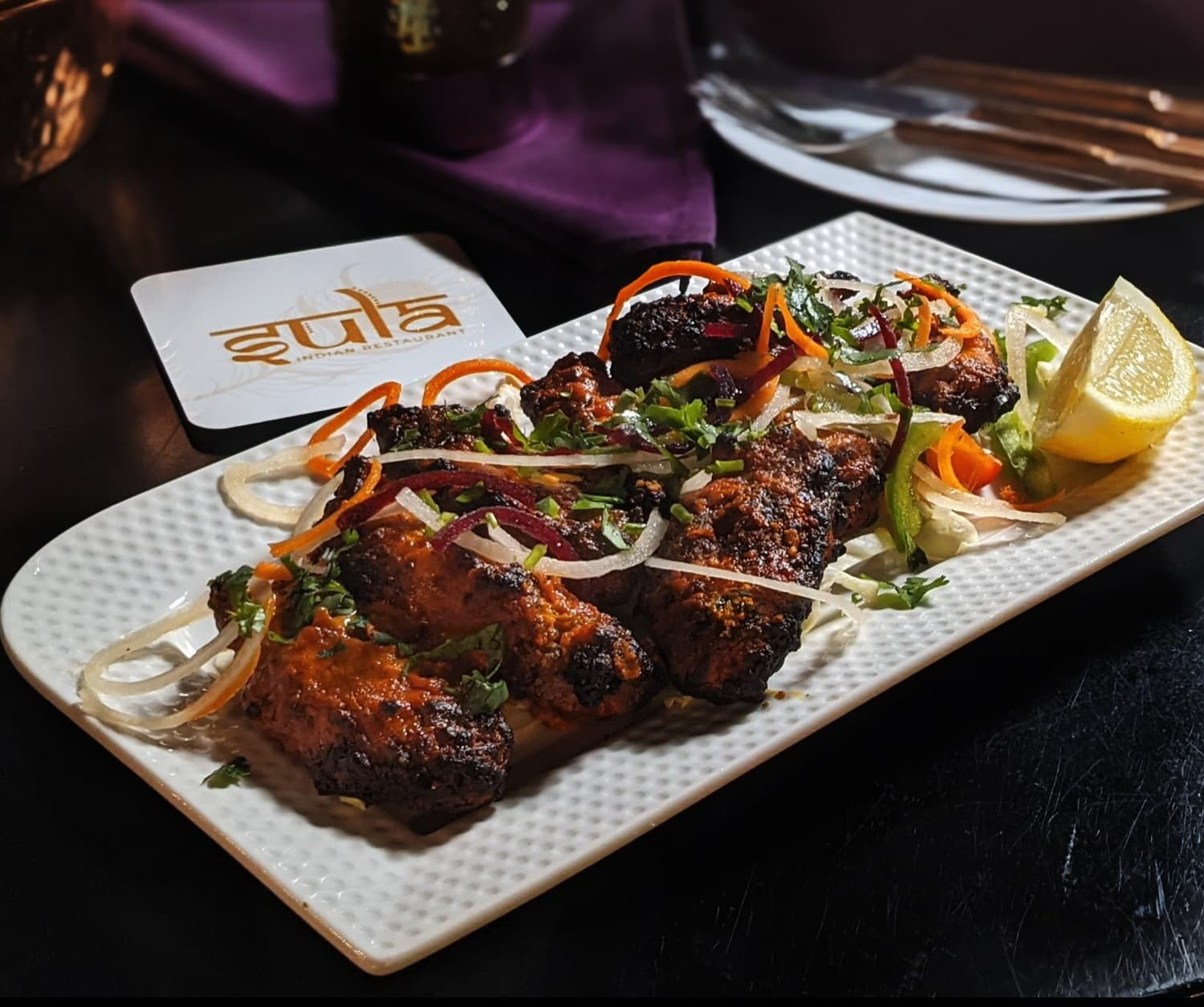 Tandoori Wings At Sula
