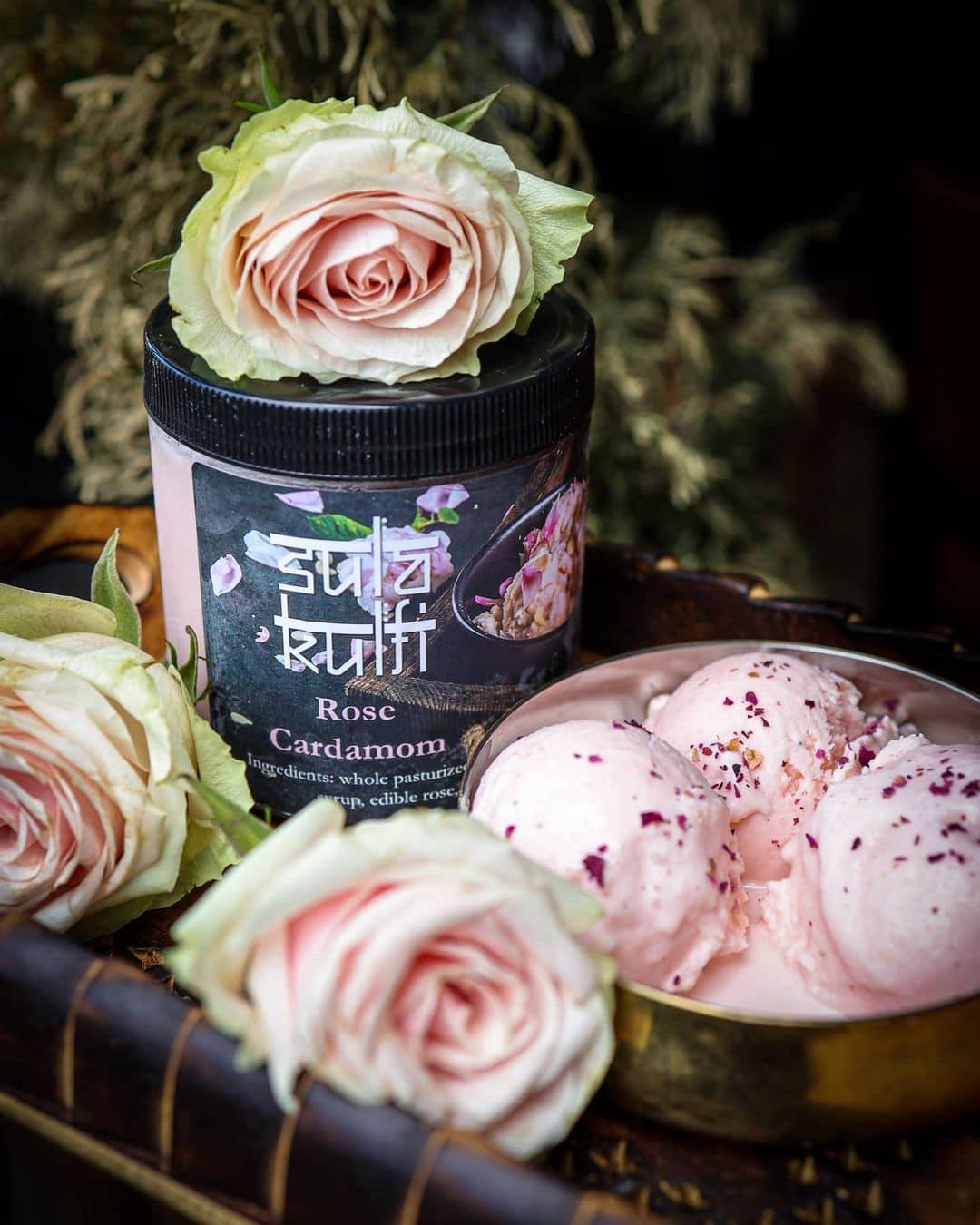 sula rose ice cream kulfi